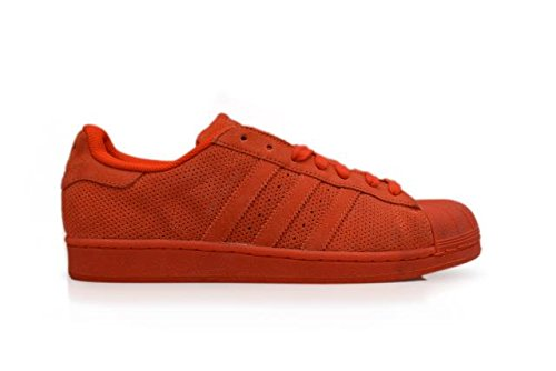 Adidas Superstar RT - Color: Red - Size: 10.0