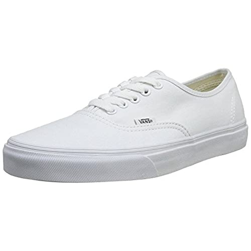 47db1e92121 low-cost VANS Unisex Authentic True White Canvas VN000EE3W00 Mens ...