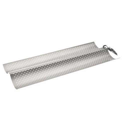 Ibili Stainless Steel Non-Stick Perforated 2 Tile Baguette Pan