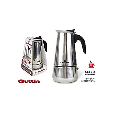Dream Hogar Cafetera induccion 9 Tazas 500ml Acero INOX: Amazon.es ...