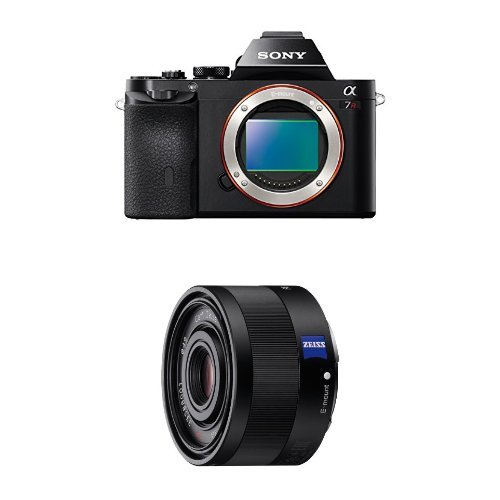 Sony a7R Full-Frame Interchangeable Digital Lens Camera - Body Only w/ 35mm f2.8 by