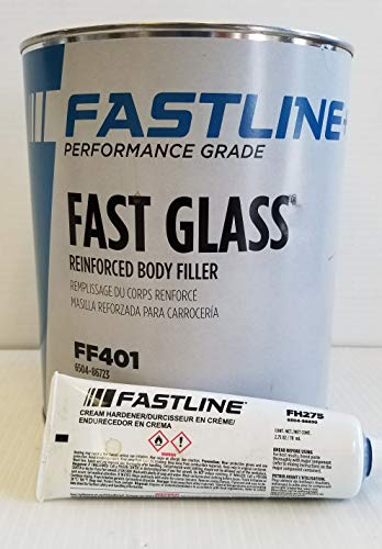 FASTLINE Performance Grade Fast Glass Reinforced Body Filler FF401 AUTO Body Paint Supplies by FASTLINE (Image #1)