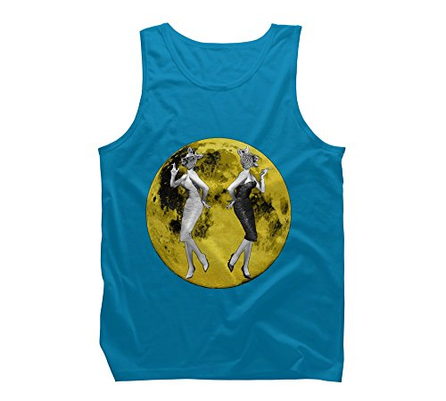gold-moon-mambo-mens-2x-large-turquoise-graphic-tank-top-design-by-humans