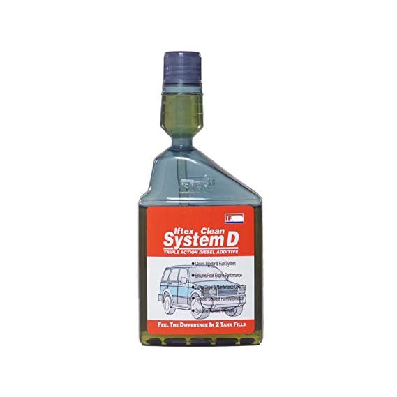 Iftex Clean System D for all Diesel Cars (250 ml)