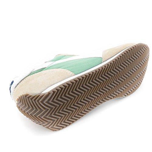 Diadora heritage sneakers nuovo equipe stone wash camoscio menta grigio tela art.156988