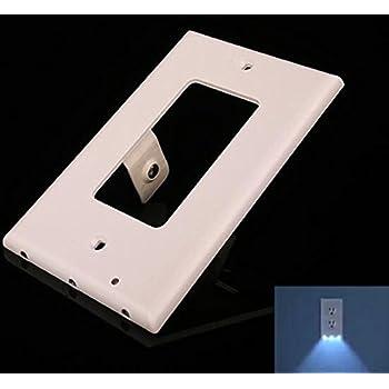Leviton X7592 W 15 Amp Slim Guide Light Gfci