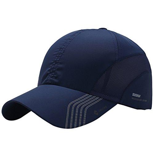 8d00f01e9e4 Fenta Outdoor Sport Baseball Mesh Hat Running Visor Quick-drying Cap for Men  Women by