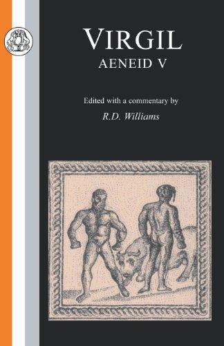 Virgil: Aeneid V (Latin Texts) (Bk. 5)