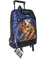 16 Marvel Fantastic Four Large Rolling Backpack with Wheels