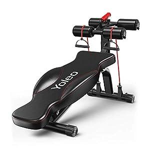 YOLEO Banc de Musculation Pliable Multifonction Sit-up Fitness Musculation Bras Gym Domicile Bureau accessoires de fitness [tag]