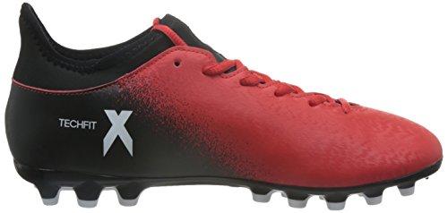 adidas X 16.3 Ag, Botas De Fútbol para Hombre Rojo (Red)