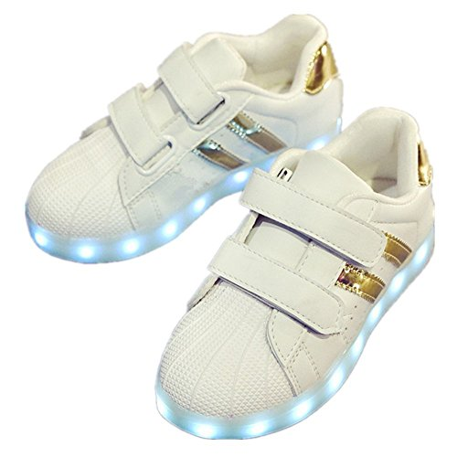 Believed LED Light Up Shoes Kids Girls Boys Breathable Flashing Sneakers