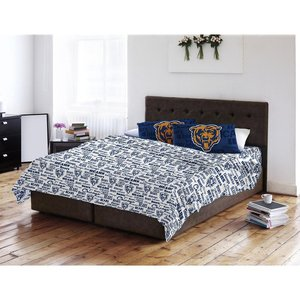 Bears Set Sheet Chicago Full (Northwest Chicago Bears Full Sheet Set Anthem Bed Sheets)