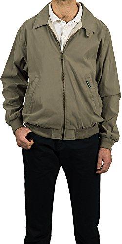 Weatherproof Men's Microfiber Classic Jacket, Willow, - Jacket Microfiber Lightweight