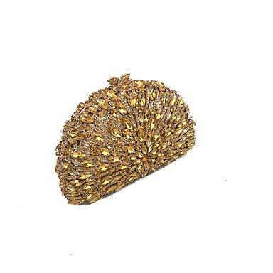 avec pierre et Pochettes couverts SUNNY gold clutches féminins KEY Sacs de vintage de soirée verre une qB7vT7Fwn