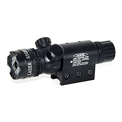 F.Dorla® Advanced Optics Hot Tactical Red Laser Beam Dot Laser Scope Sight with 2 Adjusted Mounts for Gun Rifle Pistol