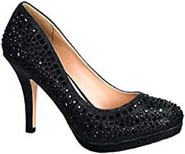 Amazon.com: Platform - Pumps / Shoes: Clothing Shoes &amp Jewelry