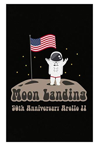 (Kellyww Landed On The Moon Apollo 11 50th Anniversary Design - Poster )