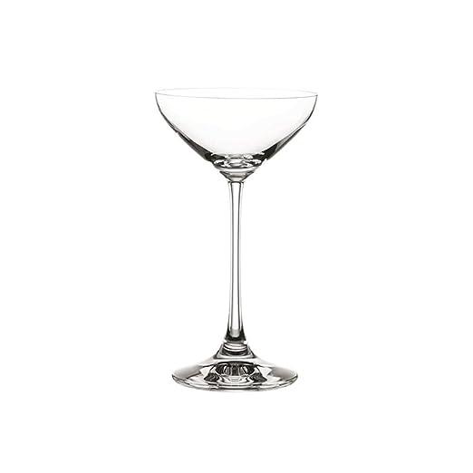 Copa de champán Copa de Vidrio sin Plomo Copa de champán ...