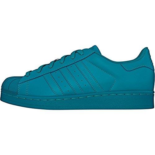 adidas Superstar Foundation, Zapatillas Unisex infantil Verde (Vert - Labgrn/Labgrn/Labgrn)