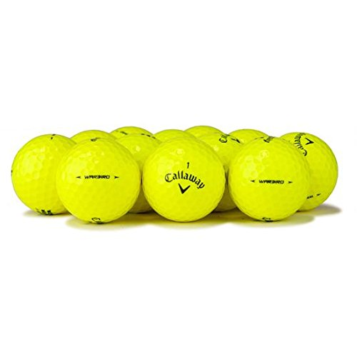 (Callaway Yellow Premium Golf Balls (50 Pack), Packaging May Vary)