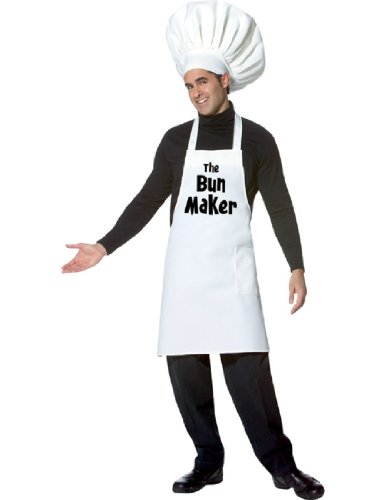 ADULT The Bun Maker Chef Costume - Sexy Pregnant Costumes