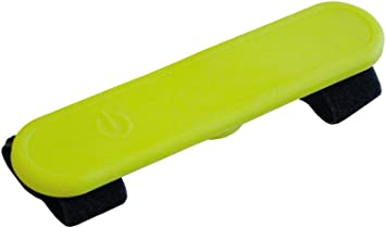 Nobby Led Silikon Klettsticker Flash Gelb 12 X 3 5 Cm Haustier