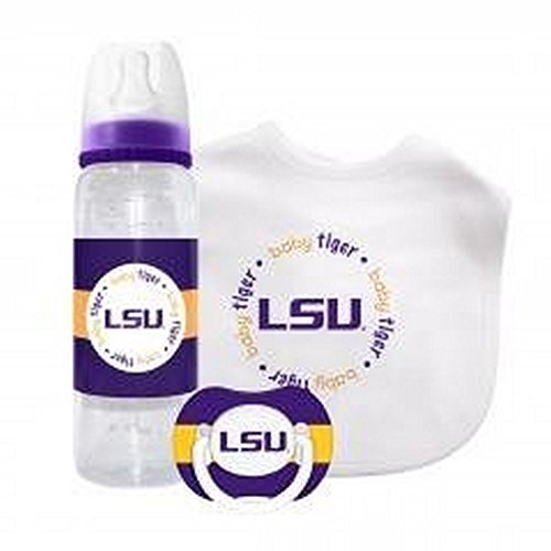 NCAA Officially Licensed Kick Off Collection 3-piece Gift Set (LSU Tigers)