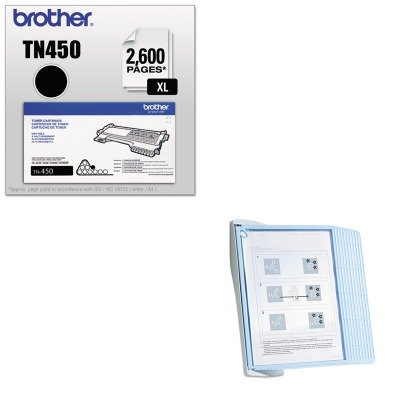 KITBRTTN450DBL594306 - Value Kit - Durable SHERPA Style Desk Reference System (DBL594306) and Brother TN450 TN-450 High-Yield Toner (BRTTN450)