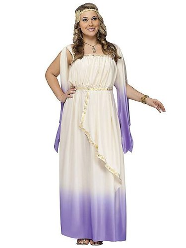 Goddess Costume - Plus Size 1X/2X - Dress Size 16-20 (Plus Size Greek Goddess Costume)