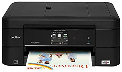 Brother Printer MFC-J680DW Wireless Color Photo Printer with Scanner, Copier & Fax