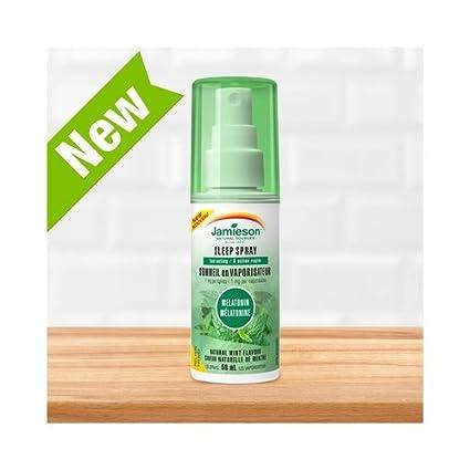 Melatonina Sleep Spray 50 Ml de Jamieson: Amazon.es: Salud y cuidado ...