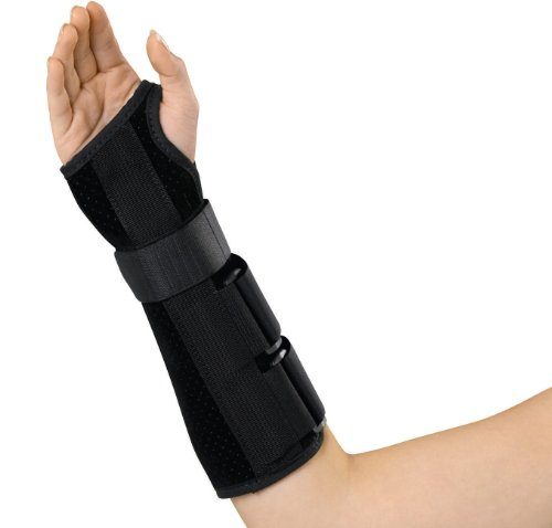 Medline Wrist and Forearm Splint, Right, Large ()