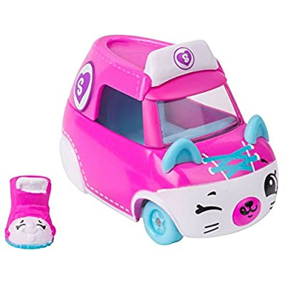 Shopkins Cutie Cars Series 2 3 Wheel Wonder Wheely Sneaky with Exclusive Mini Shopkin QT2-10: Toys & Games