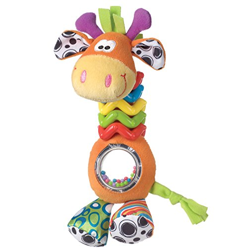 A Baby Giraffe Rattle - Playgro 0181561107 My First Bead Buddies Giraffe for baby infant toddler children