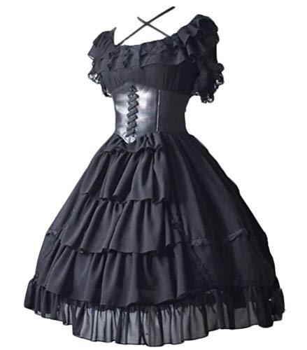 Topin Sweet Girls Lace Lolita Dress Vintage Palace Style Princess Party Dress 2020