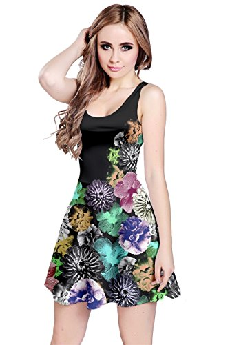8f358bffd37 CowCow Vintage Flowers Pattern Sleeveless product image