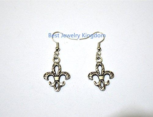 Earrings, Fleur De Lis, Fleur De Lis Earrings Birthday Gift, Graduation Earrings,French Fleur de Lys Symbol ,Gift Idea