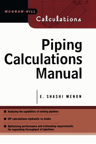 Piping Calculations Manual (Mcgraw-Hill Calculations) (Steam System Design)