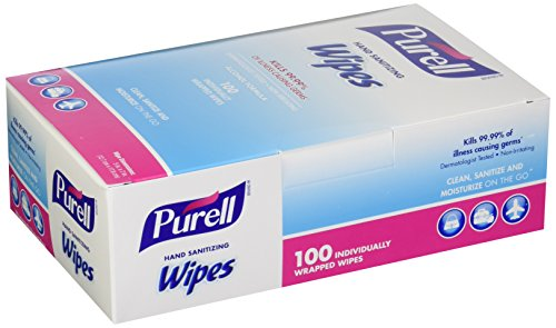 PURELL 902210CT Sanitizing Individually Wrapped