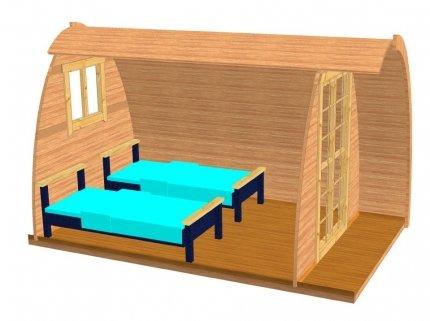 9, 2 m² Sauna Pod Deluxe bloque Jardín Sauna de casa bloque hogar camping Sauna de Madera: Amazon.es: Jardín