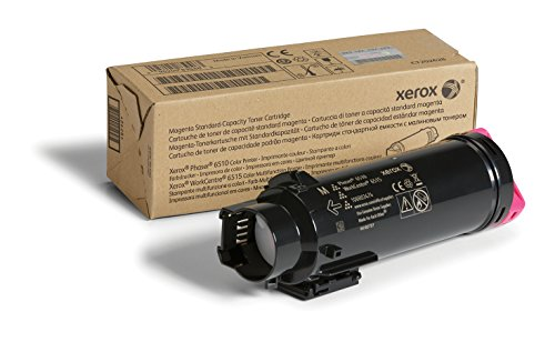 Genuine Xerox Magenta Standard Capacity Toner Cartridge (106R03474) - 1,000 Pages for use in Phaser 6510, WorkCentre 6515