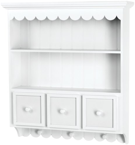Fashion Furnishings Collectible Cupboard - White 1 pcs sku# 633669MA by DOODLEBUG