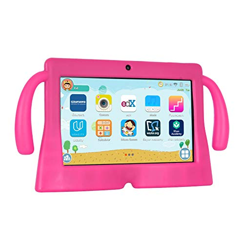 Xgody 7 Inch HD Android Kids Tablet for Kids Internet Class Quad Core Android 8.1 1GB RAM 16GB ROM Touch Screen with…
