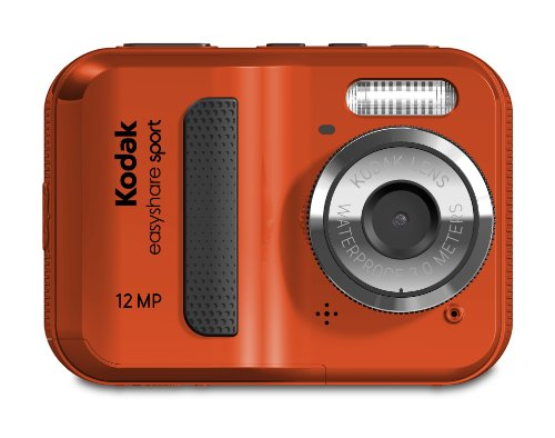 (Kodak EasyShare Sport C123 12 MP Waterproof Digital Camera (Red))