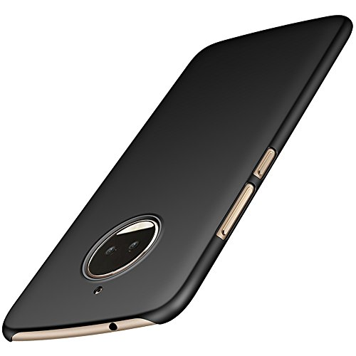 Moto G5S Plus Case, Anccer Motorola G5S Plus [Colorful Series] [Ultra-Thin] [Anti-Drop] [Heavy Duty] Premium Material Full Body Protector Back Cover (Not fit for Moto G5 Plus) (Dark)