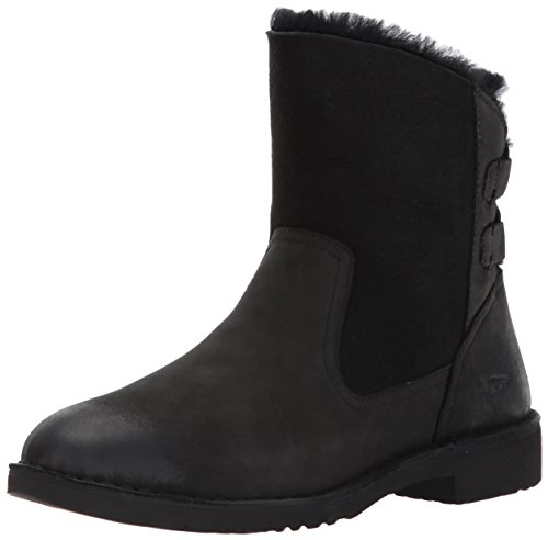 UGG Women's Naiyah Winter Boot, Black, 10.5 M US (Boots Ugg Clog)