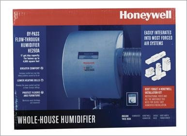 Honeywell HE260A Higher Capacity Whole House Bypass Humid...