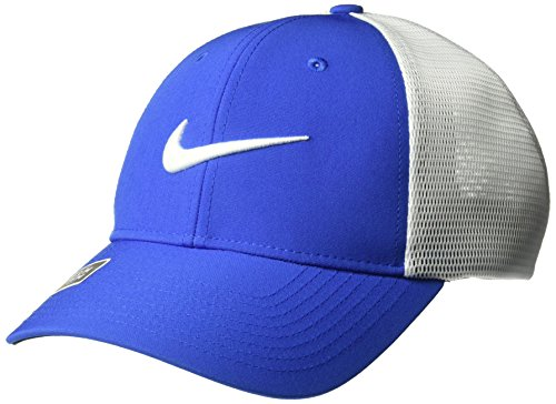 Dri Fit Game (NIKE Unisex Legacy 91 Tour Mesh Hat, Game Royal/White/White, Small/Medium)