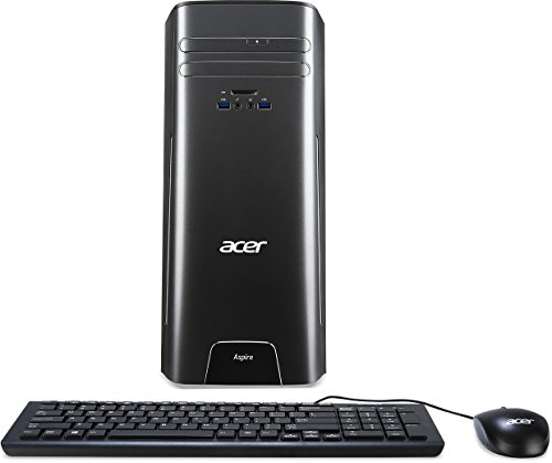 Acer Aspire AT3-710-UR52 Desktop, Intel i5-6400 processor Quad-core 2.70 GHz, 8 GB, DDR3 SDRAM 2 TB HDD Win10 home